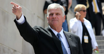 'He has changed the world': Reverend Franklin Graham's powerful proclamation for Trump