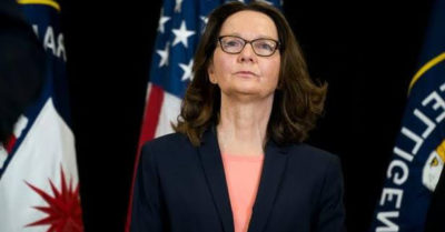 Was CIA Director Gina Haspel injured and arrested during Frankfurt CIA computer facility raid?