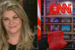 Actress Kirstie Alley supports President Trump and criticizes CNN
