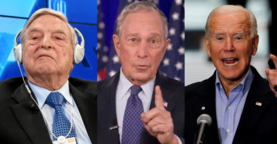 George Soros behind Bloomberg's payments so that Florida criminals can vote