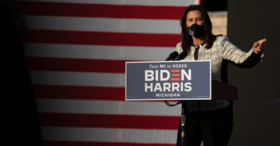Whitmer to Americans: 'If you're tired of lockdowns, of wearing masks … elect Joe Biden'
