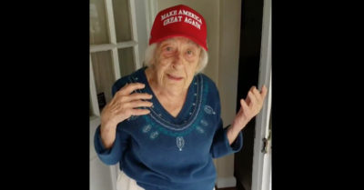 101 year-old-woman pledges to vote in person for President Trump on Nov 3