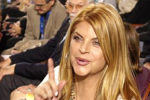 Actress Kirstie Alley says she will vote for President Trump again at the Nov. 3 election