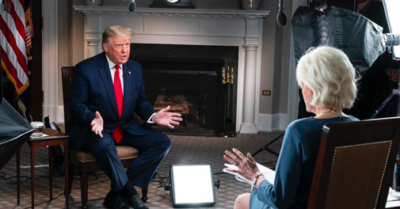 CBS '60 Minutes' interview with President Trump that's full of 'hatred and bias' is leaked by the president unedited