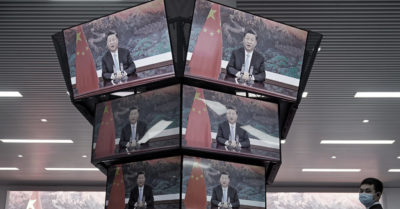 The Chinese Communist Party puts its propaganda machine at Biden's service