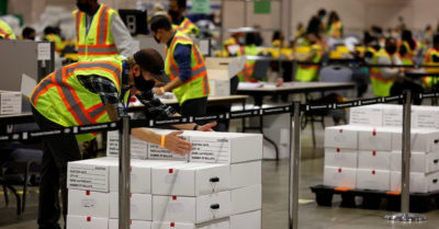 After presidential election, nearly 30% of Americans worry about vote counting