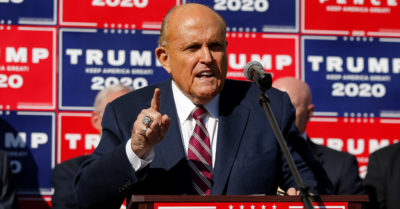 Dominion whistleblowers have come forward, Rudy Giuliani says they have evidence of voter fraud