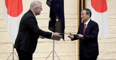 Australia and Japan sign new military pact: Chinese Communist Party threatens retaliation