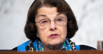 Sen. Feinstein's husband owns 60% of the firm involved in the electronic election fraud in Michigan