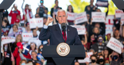 Mike Pence encourages patriots: 'We're gonna keep fighting until every illegal vote is thrown out'