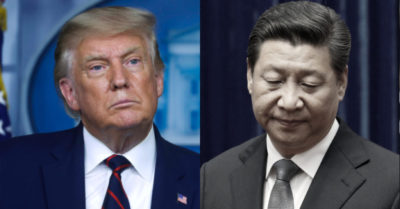 President Trump, the first president in American history to openly confront the CCP