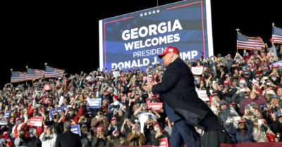 President Trump to lead big event in campaign for 2 Georgia senators