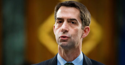Sen. Tom Cotton against impeaching the president, says no 'constitutional authority' to allow it