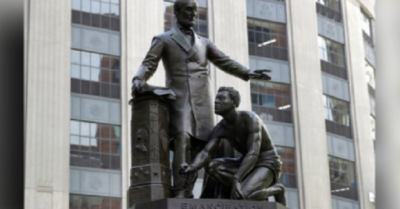 The left trashes tradition: Historic Lincoln statue removed in Boston