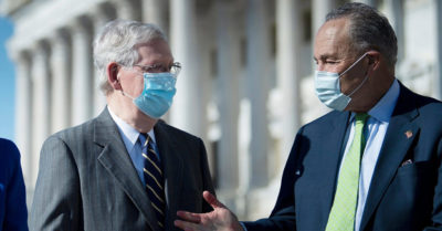 Mitch McConnell proposal for CCP Virus stimulus relief bill has Democrats fuming