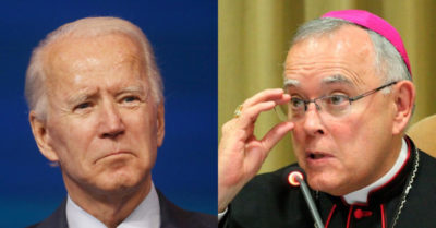 'Joe Biden should not receive Communion from the Catholic Church': Former Archbishop Chaput