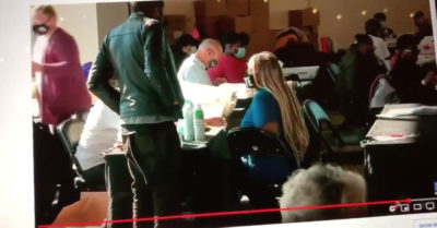 Georgia fraud: Vote counter Ruby Freeman scans ballots multiple times, appears to hand daughter USB drive in voting room