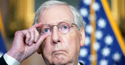 Sen. Mitch McConnell and other Republicans played dead in election fraud 'war' says President Trump