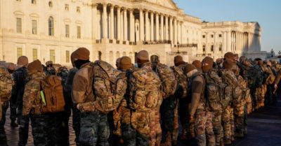 About 15,000 National Guard troops to occupy Washington by Jan. 20