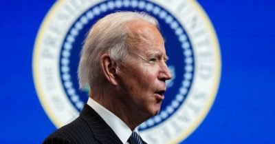 Biden only responded to reporters selected by an adviser in his first press conference