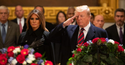 President Trump creates the 'National Garden of American Heroes' to preserve America's history