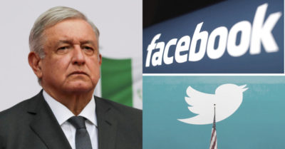 Mexican president condemns Facebook and Twitter censorship of President Trump