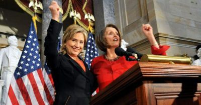 Hilary Clinton and Nancy Pelosi want 9/11 type probe, suggesting President Trump may have contacted Putin during Capitol riot