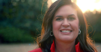 In bid to become governor of Arkansas, Sarah Sanders raises nearly $5 million