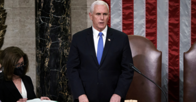 In message to Pelosi, Pence says he refuses to invoke 25th Amendment