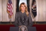 Melania Trump's farewell message: Every American should choose love over hatred, peace over violence