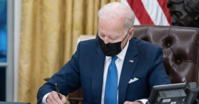 Biden is allowing illegal aliens infected with the virus to enter the US
