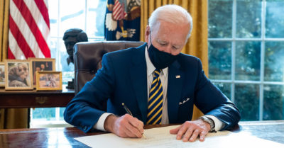 Joe Biden's disapproval rating goes up by 12% says new national poll
