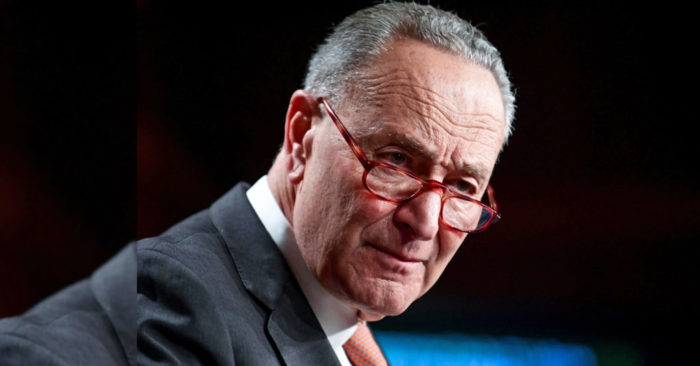 Chuck Schumer angry