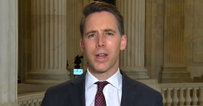 'Our rights come from God, not Google': Sen. Josh Hawley condemns growing censorship on networks