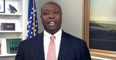 Trump is 'simply not guilty' of inciting insurrection says GOP Sen. Tim Scott