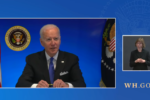 Biden's live broadcast suspended after he said, 'I'm happy to take questions'