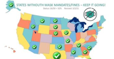 CCP Virus restrictions are released: 15 states open their economies and eliminate facemasks
