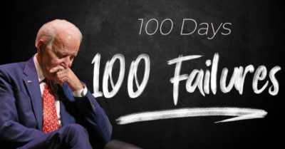 Rep. Comer points out 100 failures in President Biden's first 100 days