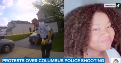 Teenage girls next-door neighbor claims the cops had no choice but to shoot her