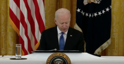 Biden mentions supersonic travel within 10 years but has no idea how to achieve it