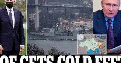 Putin blocks Black Sea entrance as Biden decides on warships withdrawal