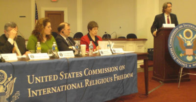 US Commission on International Religious Freedom 'honored' to receive sanctions from Chinese Communist regime