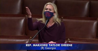 Rep. Greene blasts critics of 'America First' caucus over alleged made-up leaked document