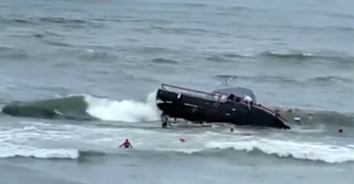 San Diego: Boat capsizes, killing 4, injuring 24 others in suspected smuggling operation