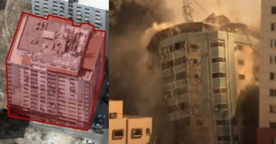Israel gives 'smoking gun' evidence of Hamas inside media building it destroyed