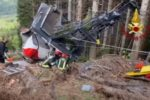 Stresa-Mottarone cable car accident in northern Italy kills 14 people, including one child, another seriously injured
