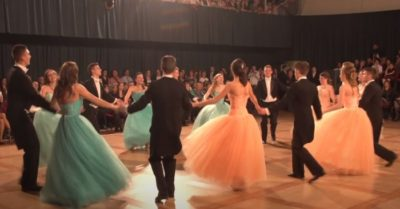 Watch beautiful dance performance in this Hungarian school Prom night