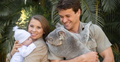 2-month-old granddaughter of Crocodile Hunter Steve Irwin meets a koala for first time