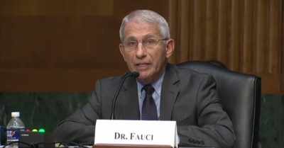 Dr. Fauci joined panel with Wuhan lab 'gain of function' adviser