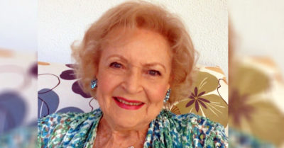 Legendary actress Betty White loves working with animals